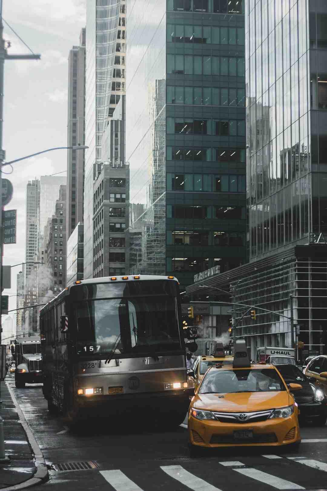 Comment prendre le bus à New York ?
