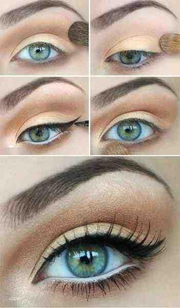 Quelle couleur d'ombre à paupière pour les yeux bleus ?