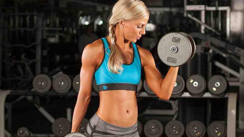 Programme musculation bras